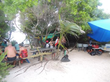 Cozinha na ilha