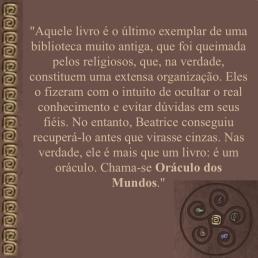 oráculo trecho